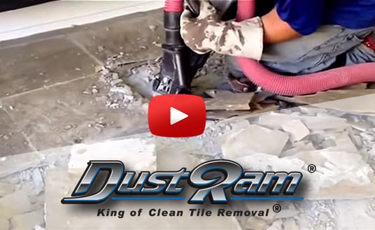 Dust Free Tile Removal Houston - Cleaning dust after tile removal